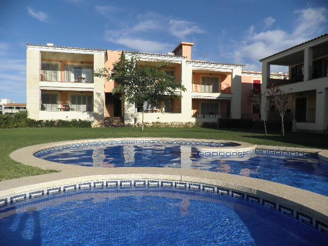 IA-189 Acogedor apartamento en S'Estanyol con piscina comunitaria