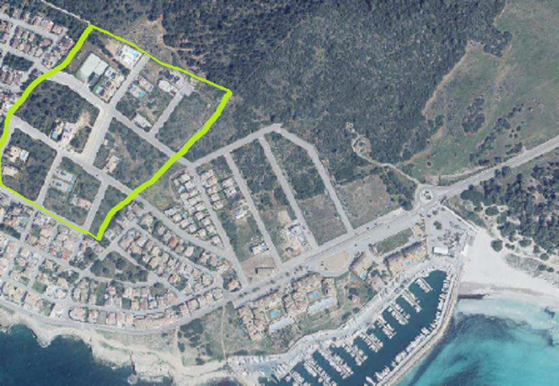 I-4028 Plot 800 m to the Beach Sa Ràpita